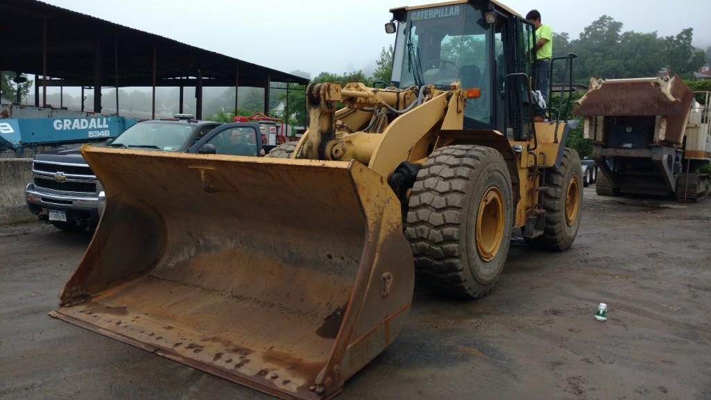 CAT 950G RUBBER TIRED LOADER SN:5FW00843 Powered By