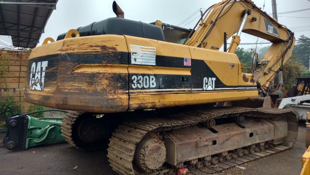 CAT 330BL HYDRAULIC EXCAVATOR SN:6DR3177 Powered By
