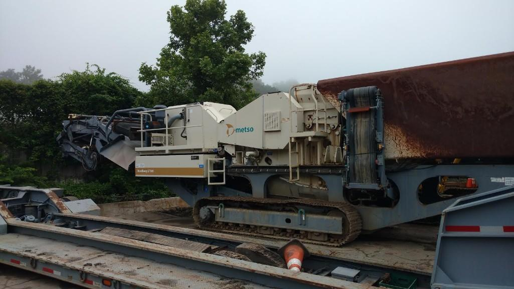 METSO LT105 JAW CRUSHER SN:72277 Powered By Cat C9