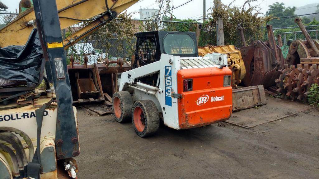 BOBCAT 763 SKID STEER SN:512219828 Powered By Diesel