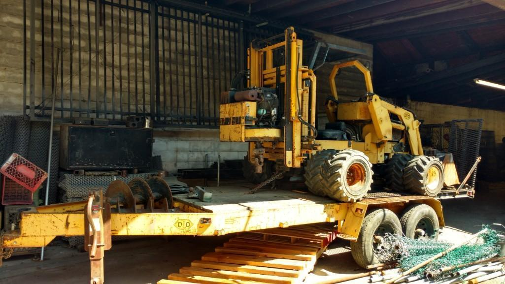 DANDY DIGGER POST HOLD DIGGER Powered By Two 25hp Gas