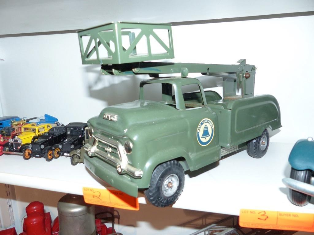 METAL GMC BUCKET TOY TRUCK COLLECTIBLE TOY