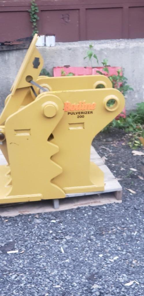 BODINE CONCRETE PULVERIZER 80/80mm To Fit Cat 320/325