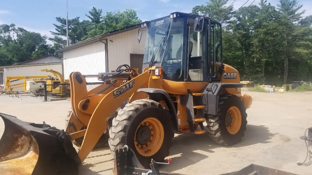 CASE 521F RUBBER TIRED LOADER SN:NFF224536 Powered By