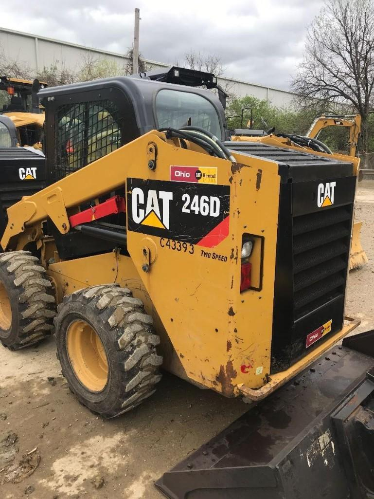 2015 CAT 246D SKID STEER SN:BYF01341 Powered By Cat
