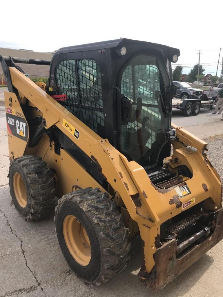 2014 CAT 262D SKID STEER SN:DTB02136 Powered By Cat
