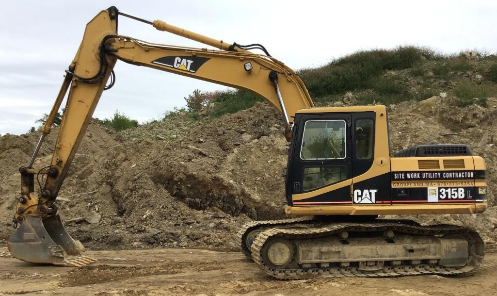 CAT 315BL HYDRAULIC EXCAVATOR SN:3AW01576 Powered By