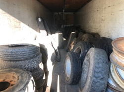 QTY OF NEW & USED TIRES TIRES NEW & USED