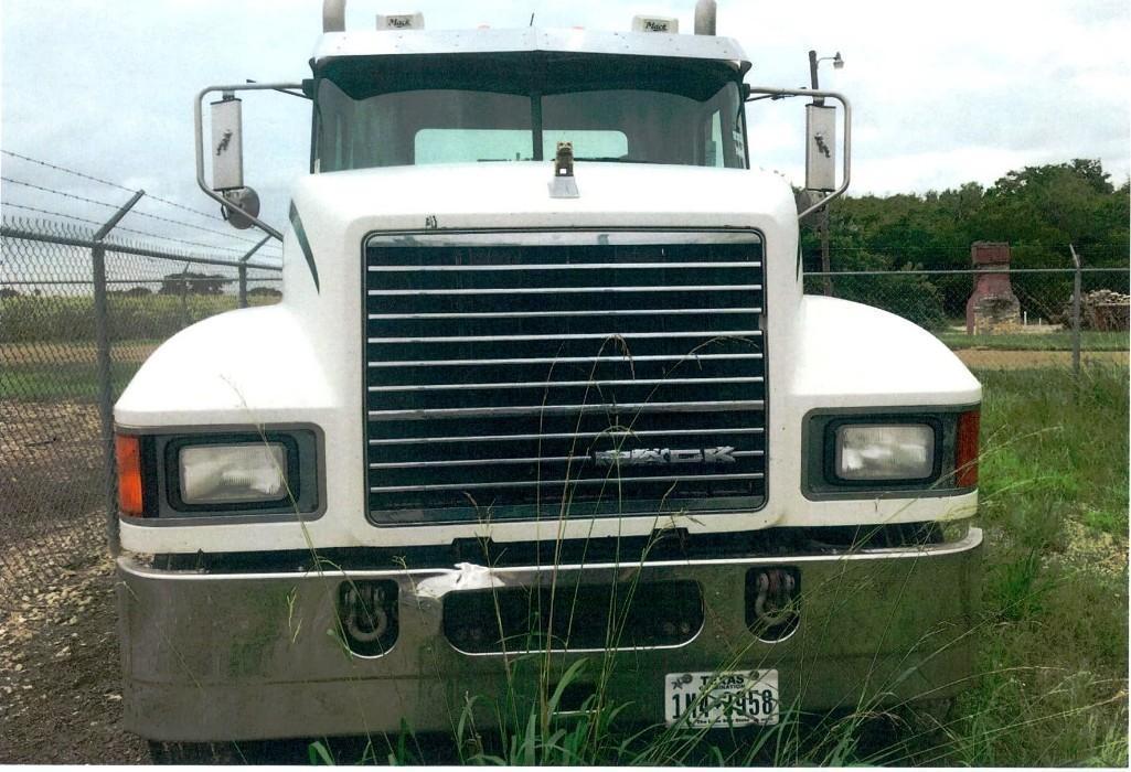 2013 MACK CHU613 TRUCK TRACTOR VN:1M2AN07Y6DM015355
