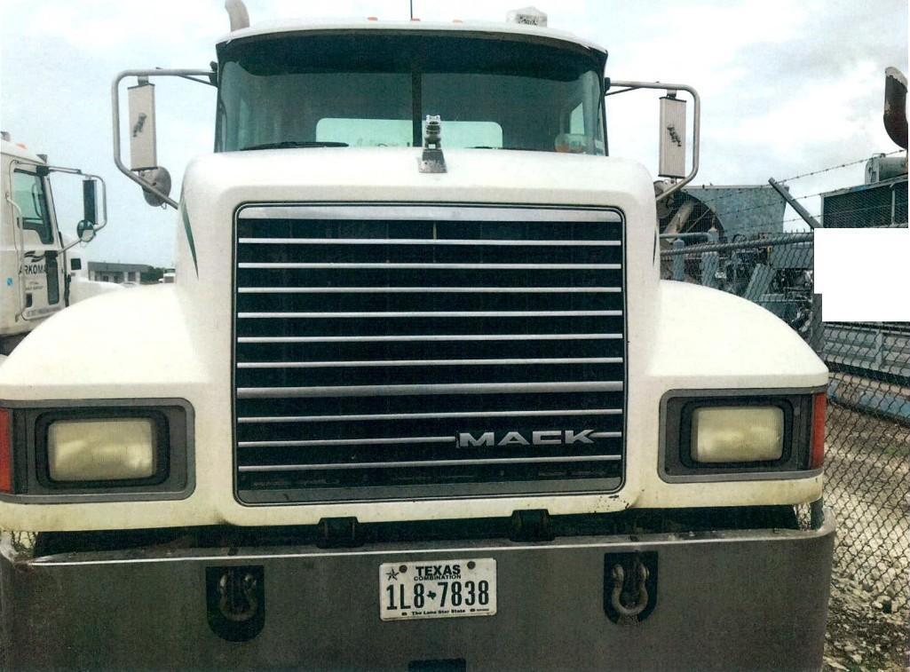 2013 MACK CHU613 TRUCK TRACTOR VN:1M1AN09Y5DM011900