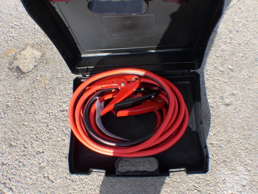 NEW 25FT. 800AMP EXTRA HD BOOSTER CABLE NEW SUPPORT