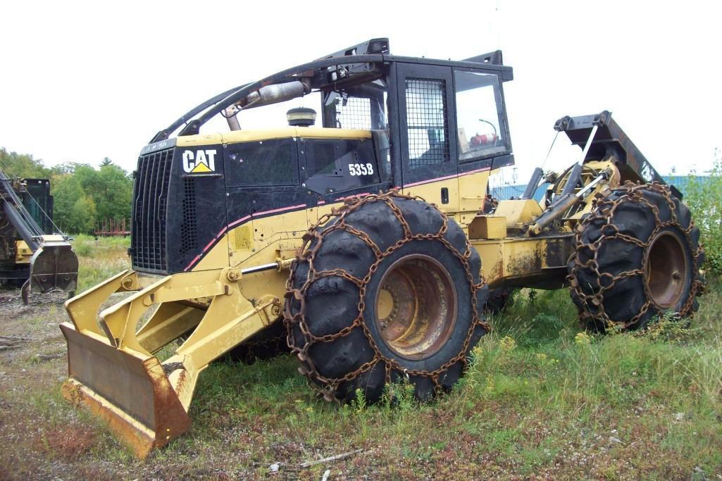 CAT 535B LOG SKIDDER SN:AAE00800 Powered By Cat 3126