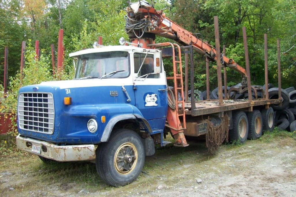 1986 FORD 80000 LOG LOADER VN:A49803 Powered By