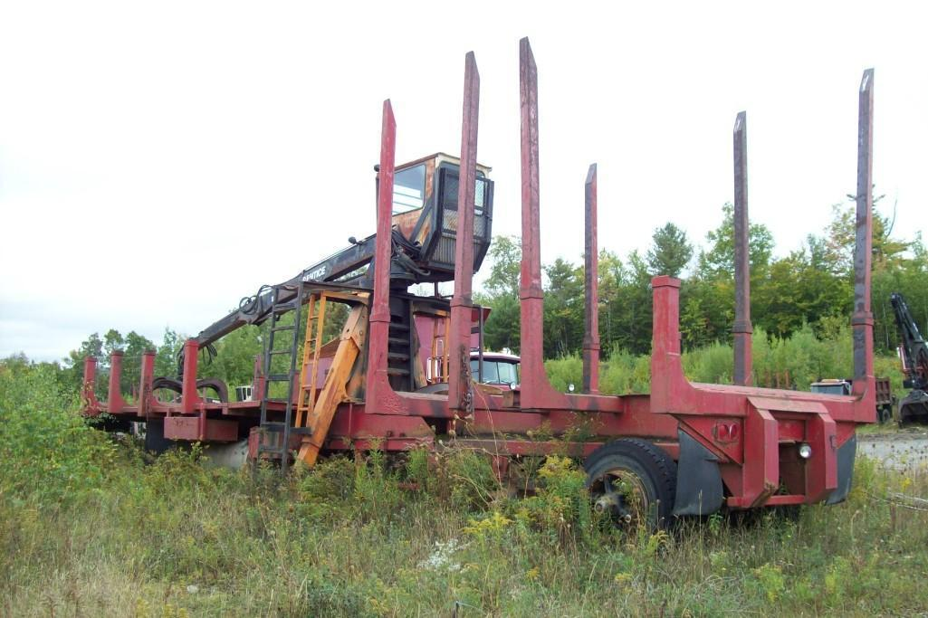 PRENTICE 120C LOG LOADER VN:N/A Equipped With 48ft. X