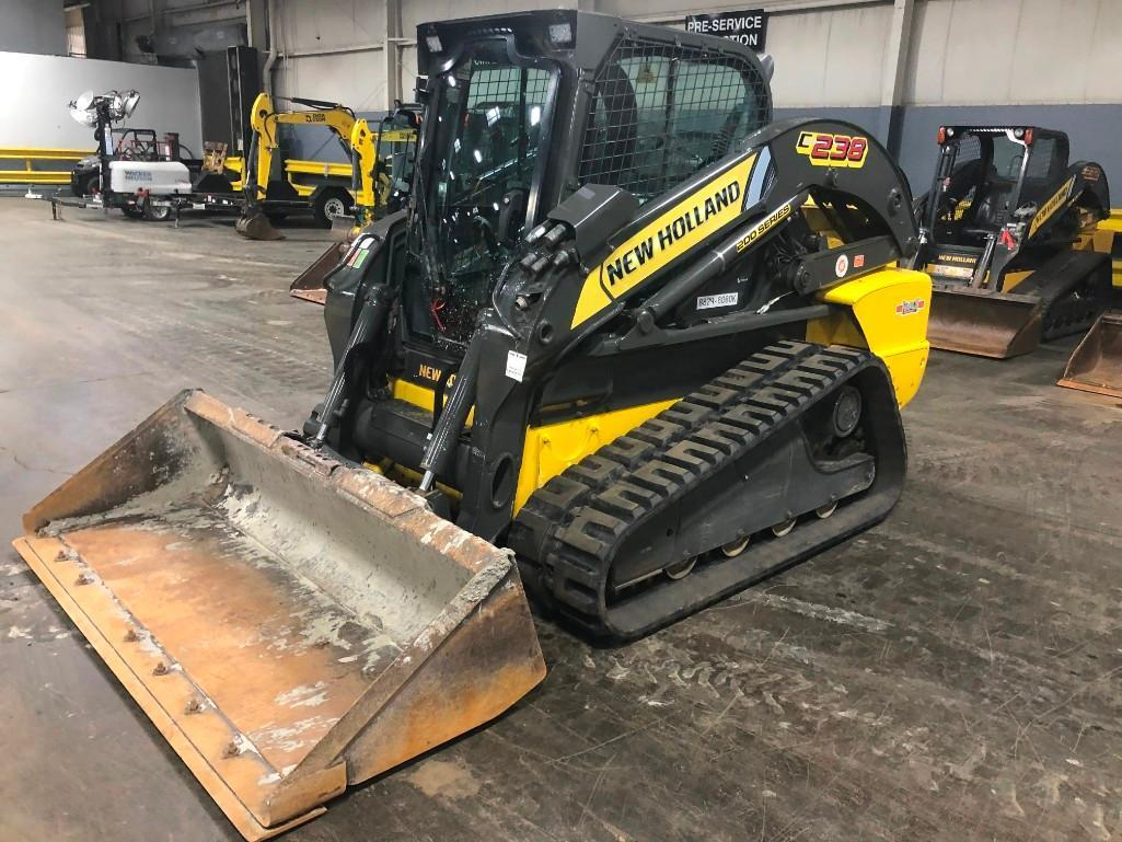2013 NEW HOLLAND C238 RUBBER TRACKED SKID STEER