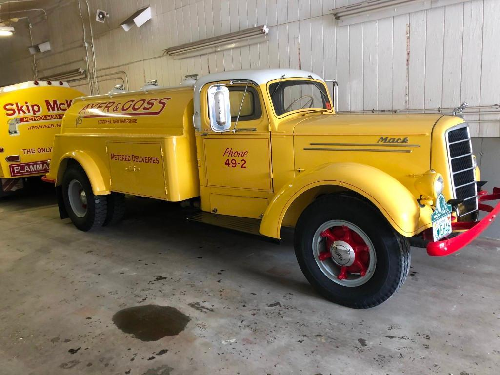 1946 MACK EH75 OIL DELIVERY TRUCK ANTIQUE TRUCK