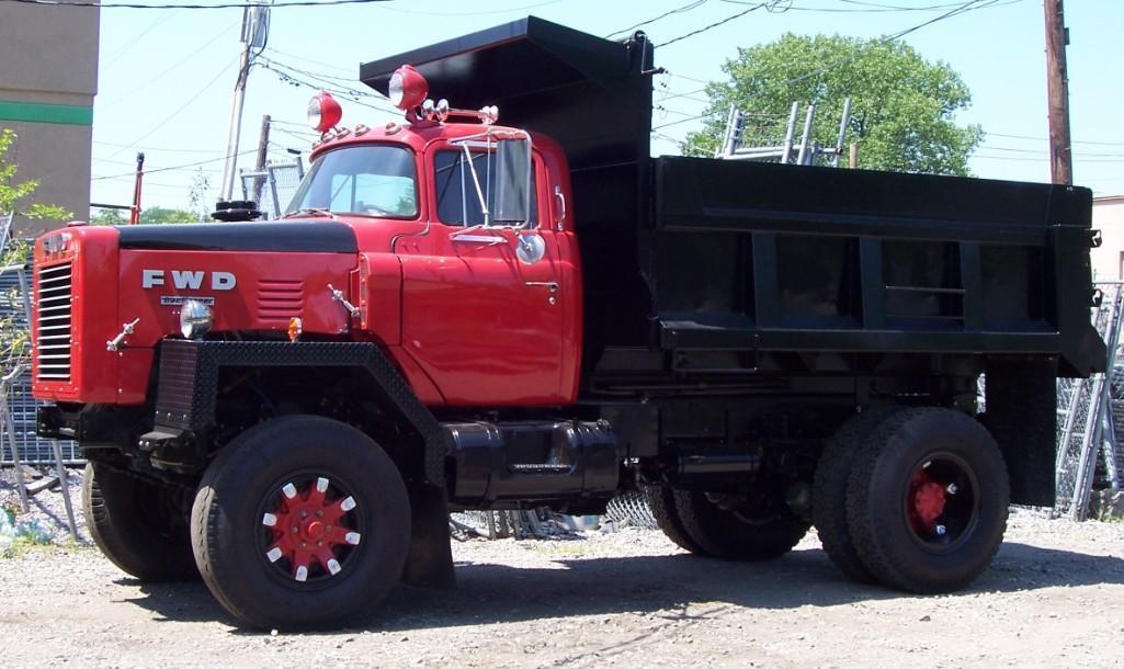 1971 FWD DUMP TRUCK ANTIQUE TRUCK VN:N/A Fully