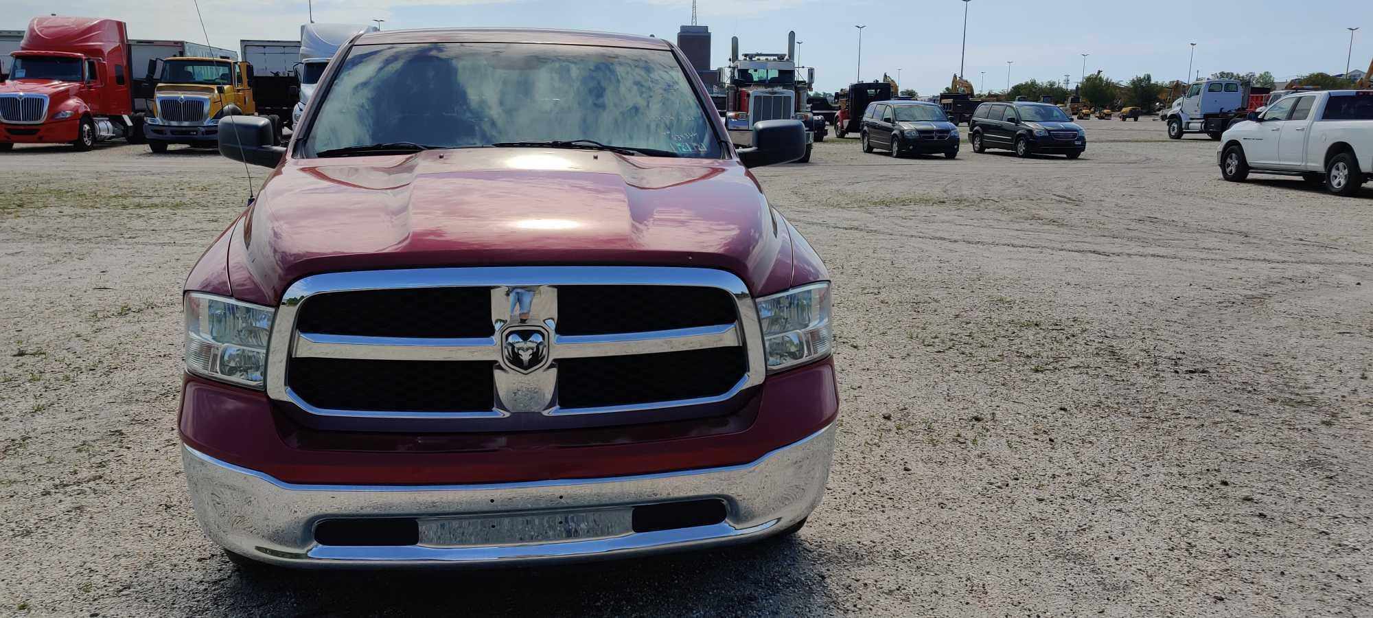 2013 DODGE 1500 PICKUP TRUCK VN:634366 4x4 Powered By