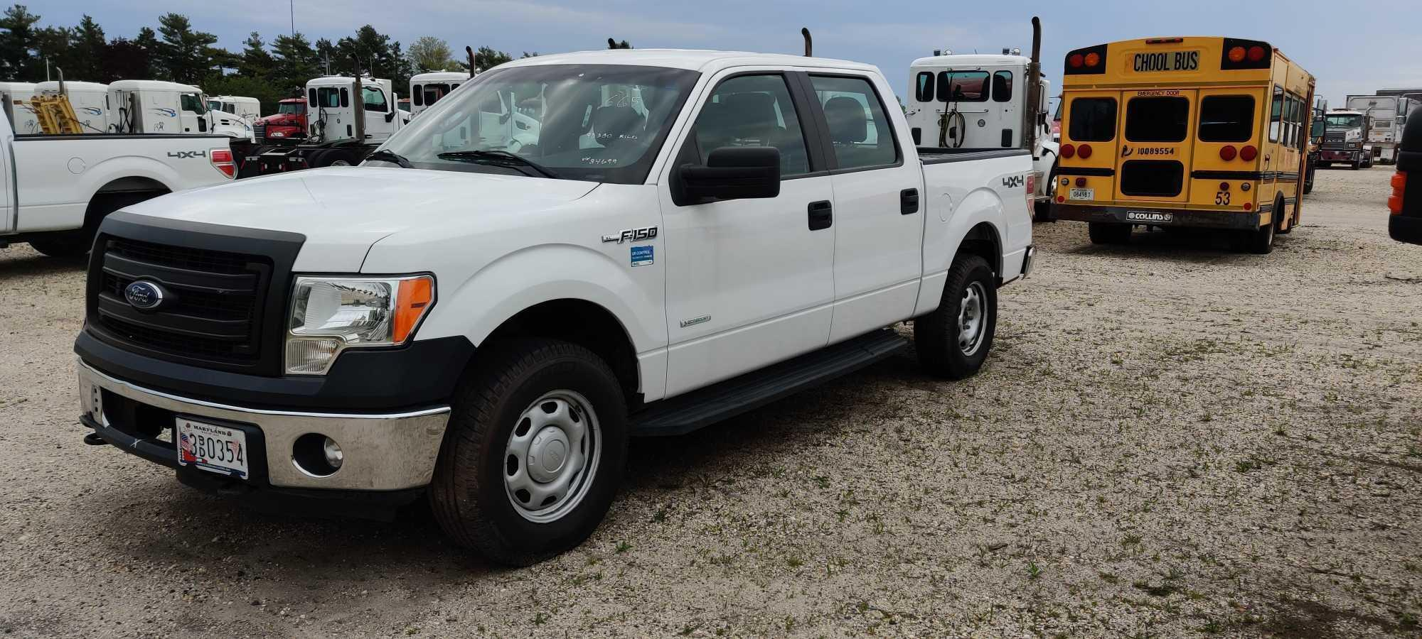 2013 FORD F150 PICKUP TRUCK VN:A84699 4x4 Powered By