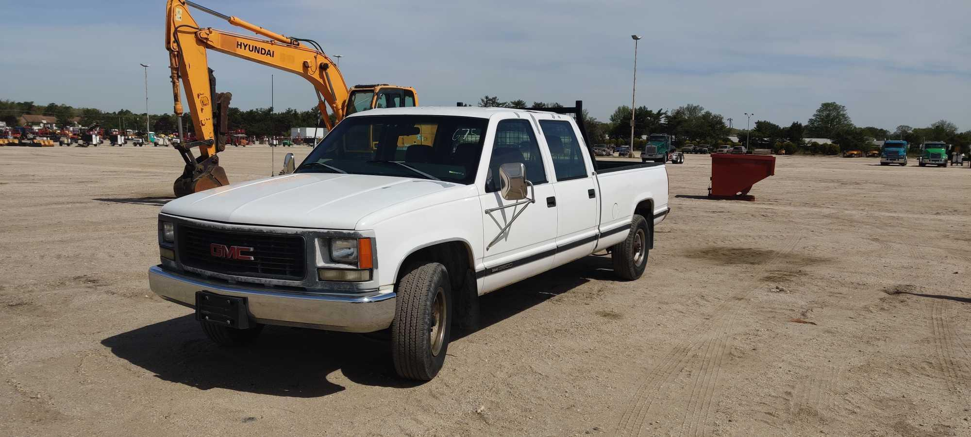 1998 GMC 3500 PICKUP TRUCK VN:F013480 Powered By 5.7L