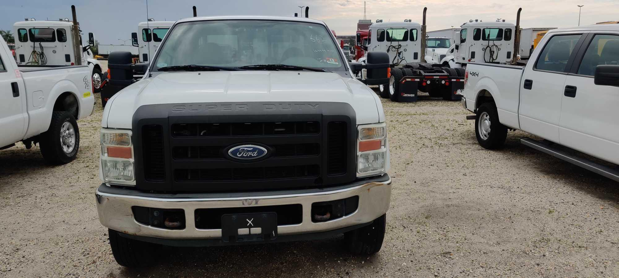 2008 FORD F250 PICKUP TRUCK VN:1FTSX21588EA40786