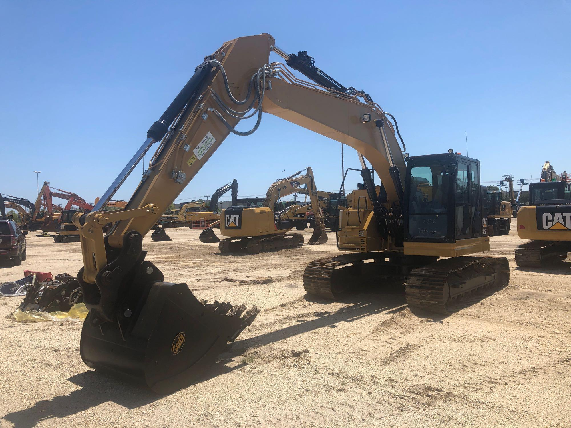 DEMO CAT 325FLCR HYDRAULIC EXCAVATOR Powered By Cat