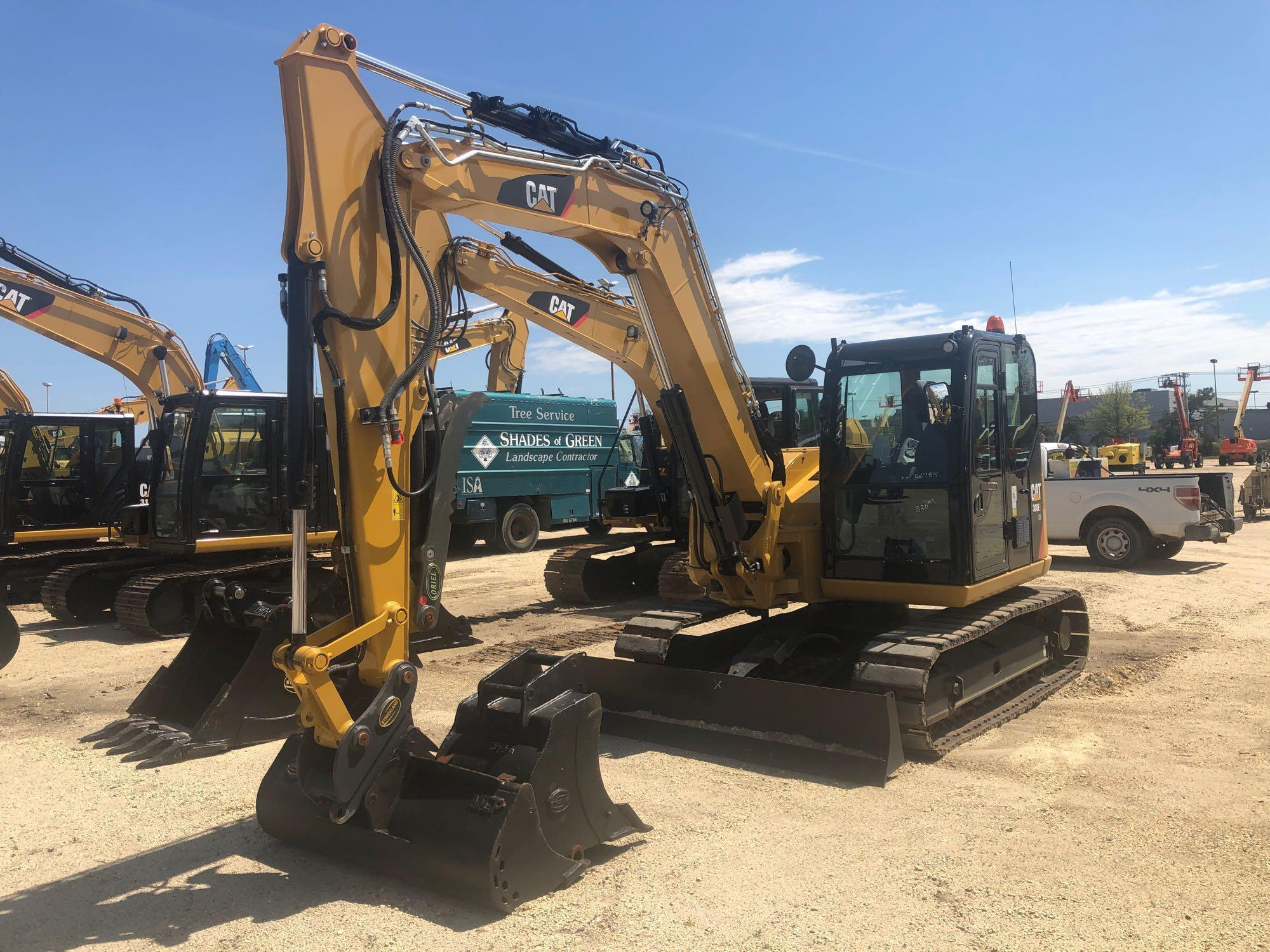 2017 CAT 308E2CR HYDRAULIC EXCAVATOR Powered By Cat