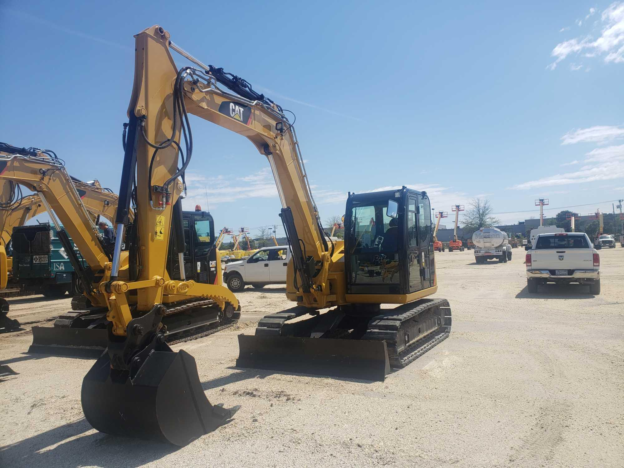 2015 CAT 308E2CR HYDRAULIC EXCAVATOR  SN-01671