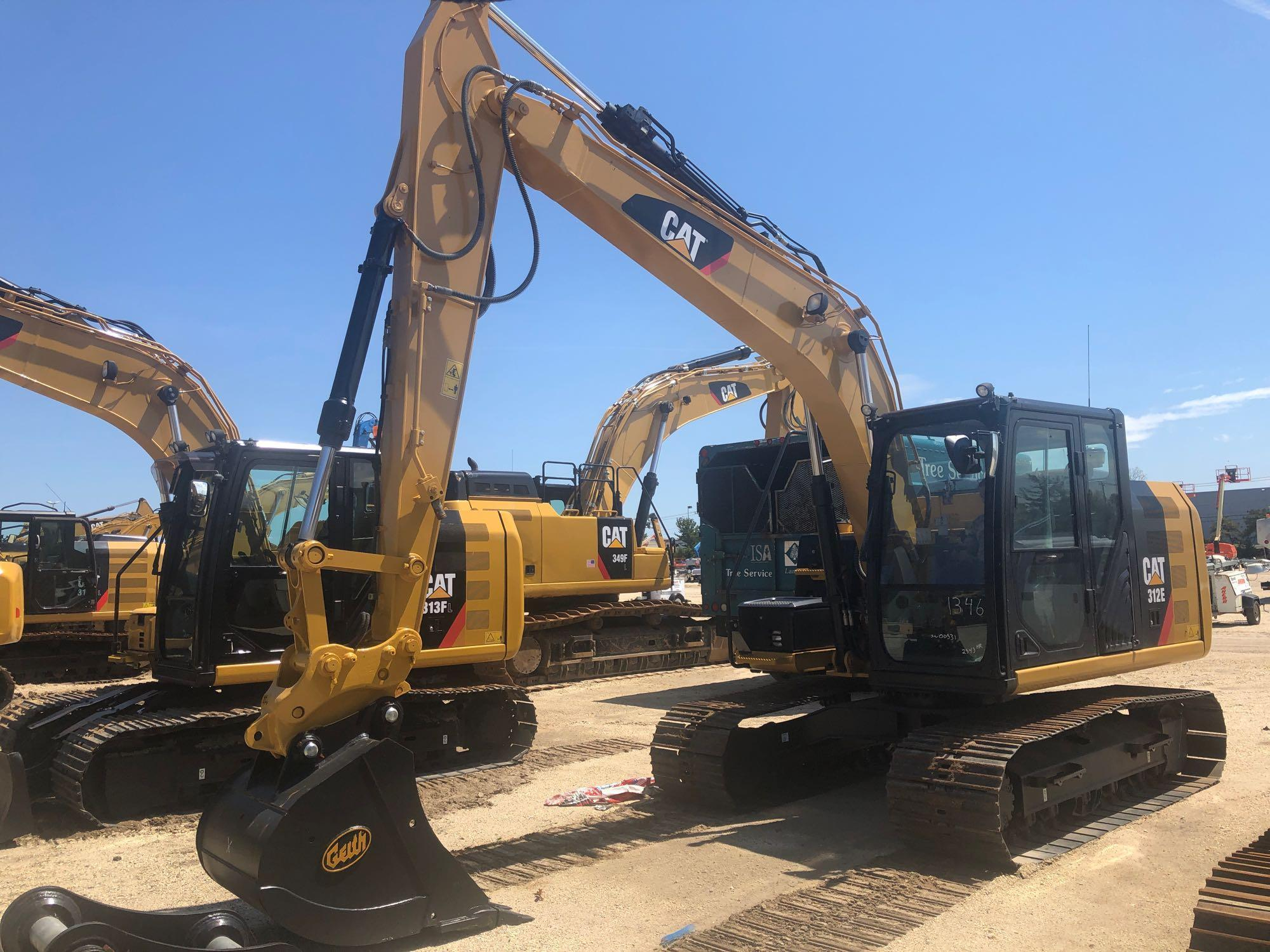 2015 CAT 312E HYDRAULIC EXCAVATOR Powered By Cat