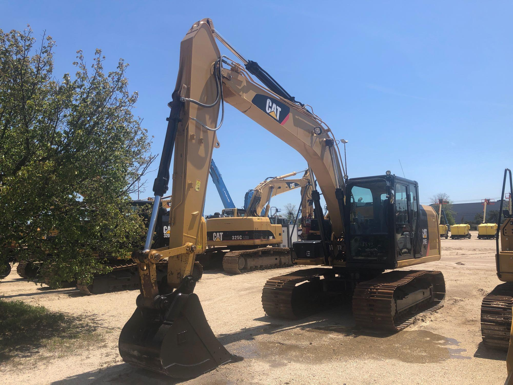 2013 CAT 316EL HYDRAULIC EXCAVATOR SN:DZW00991 Powered