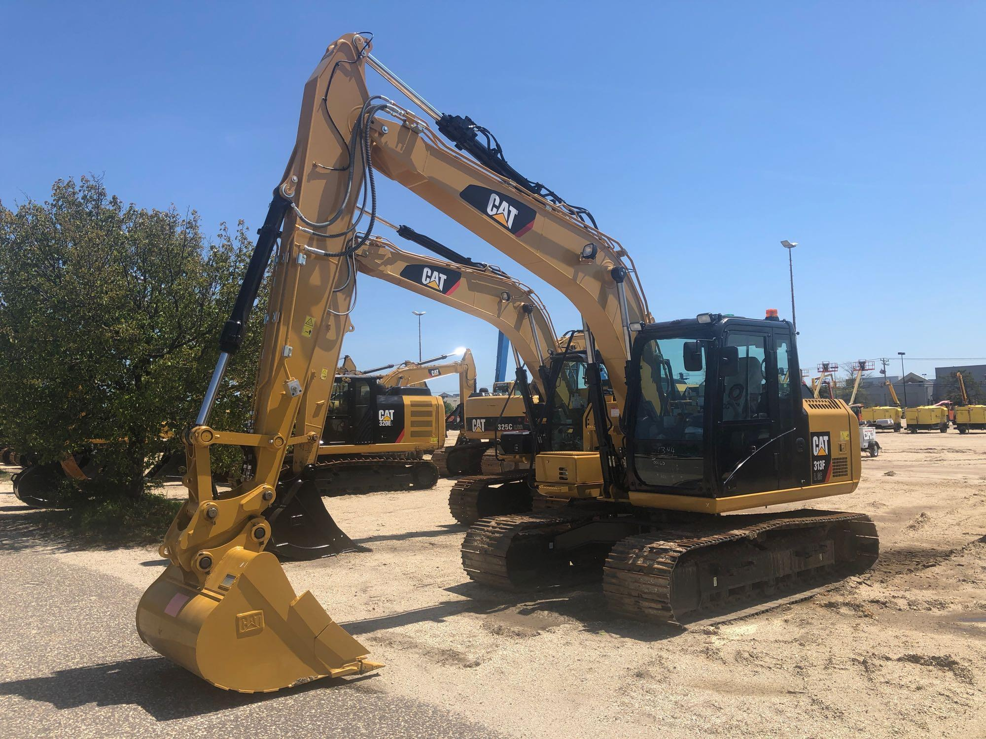 UNUSED CAT 313FL HYDRAULIC EXCAVATOR Powered By Cat