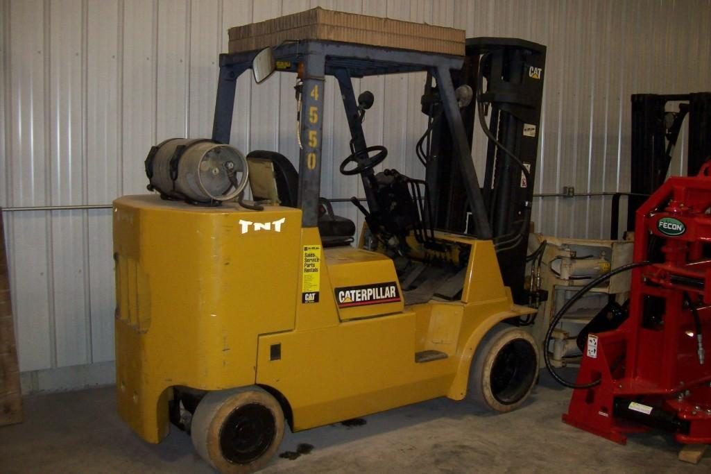 CAT GC55K-STR FORKLIFT SN:AT8800273 Powered By
