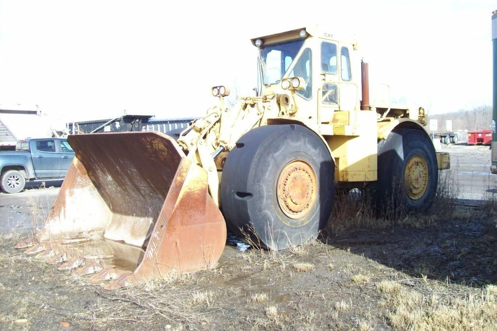 CAT 988A RUBBER TIRED LOADER Powered By Cat D343