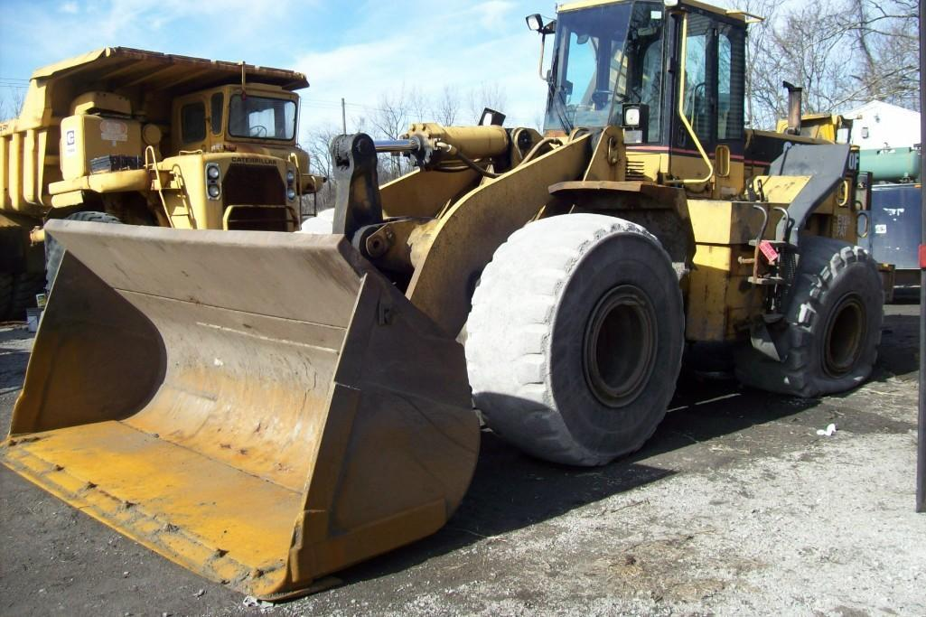 CAT 970F RUBBER TIRED LOADER SN:7SK00755 Powered By