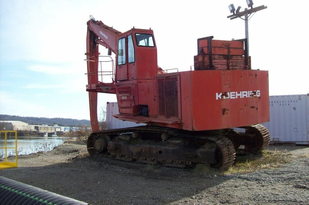 KOEHRING 6650 MATERIAL HANDLER SN:21365 Powered By