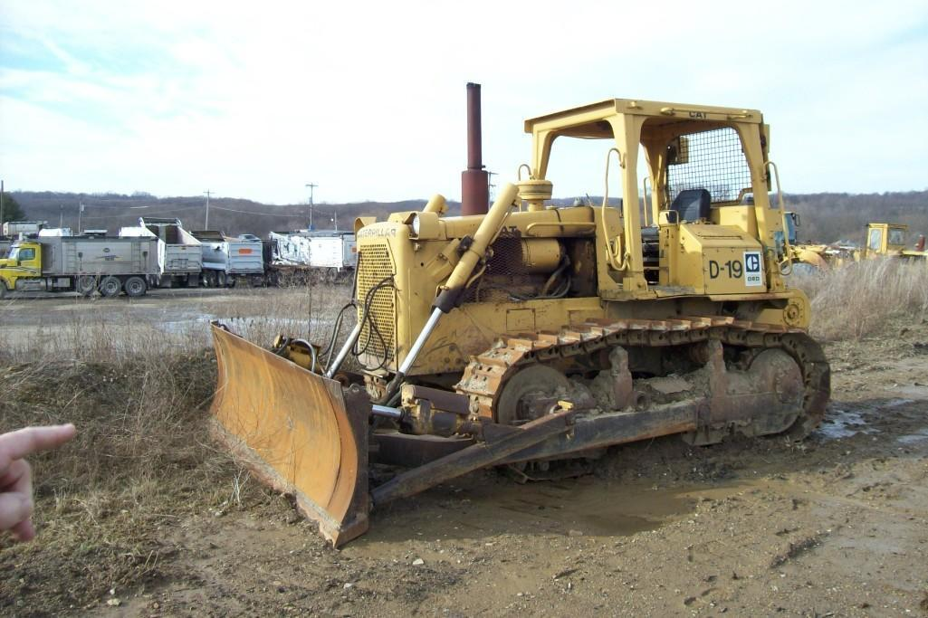 CAT D6D CRAWLER TRACTOR SN:04X08440 Powered By Cat
