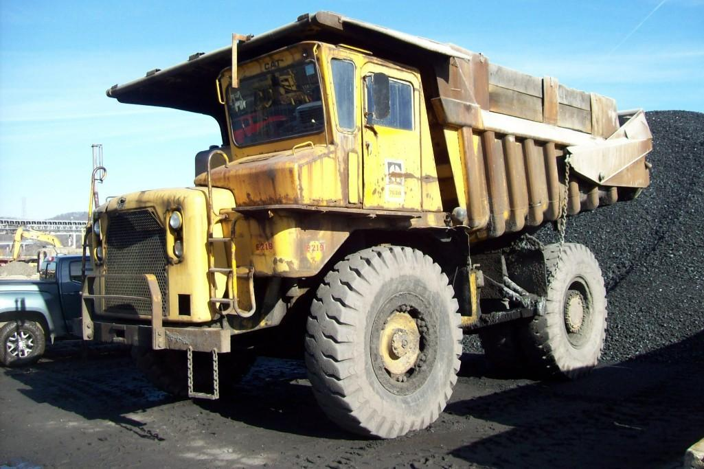 CAT 769B STRAIGHT FRAME HAUL TRUCK SN:99F5621 Powered