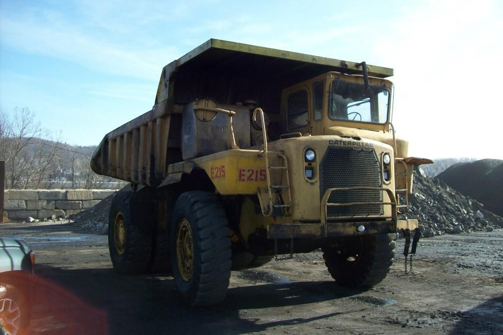 CAT 769B STRAIGHT FRAME HAUL TRUCK SN:99F4755 Powered