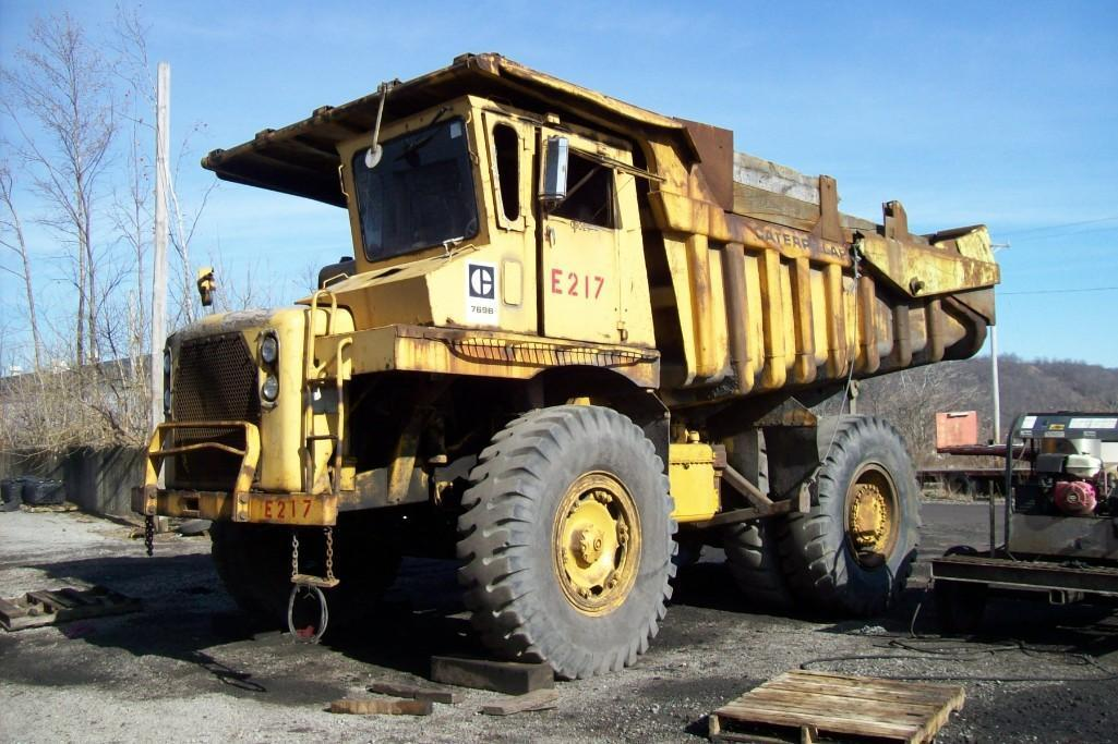 CAT 769B STRAIGHT FRAME HAUL TRUCK SN:99F3274 Powered