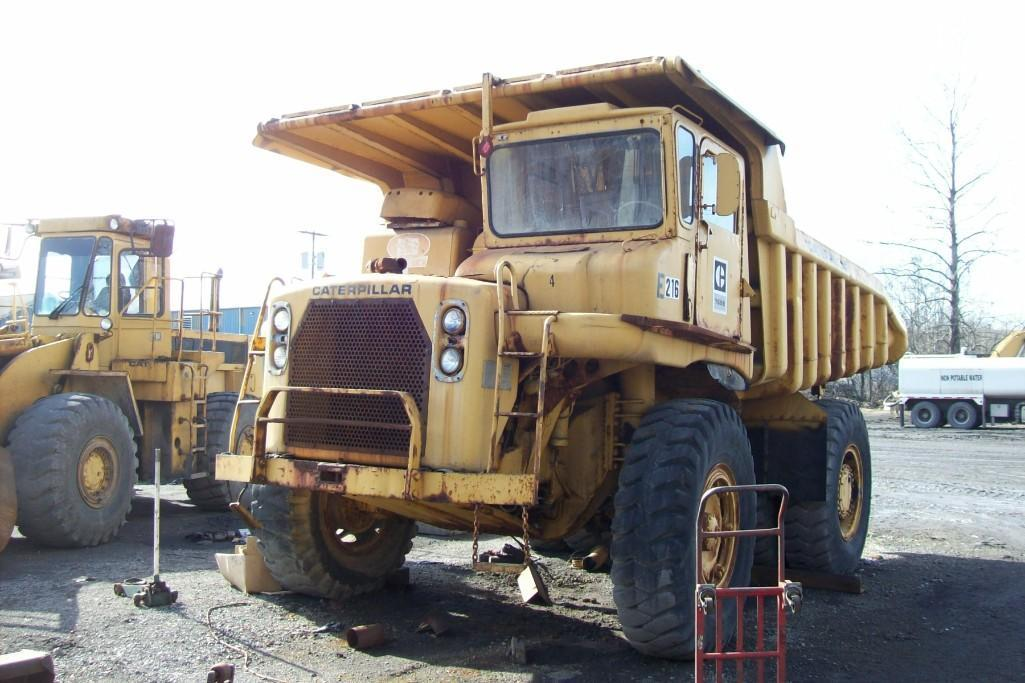 CAT 769B STRAIGHT FRAME HAUL TRUCK SN:99F2677 Powered
