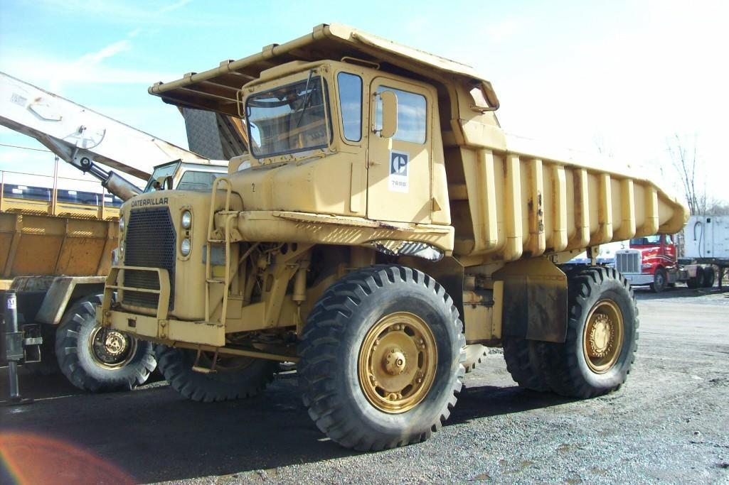 CAT 769B STRAIGHT FRAME HAUL TRUCK SN:99F2821 Powered