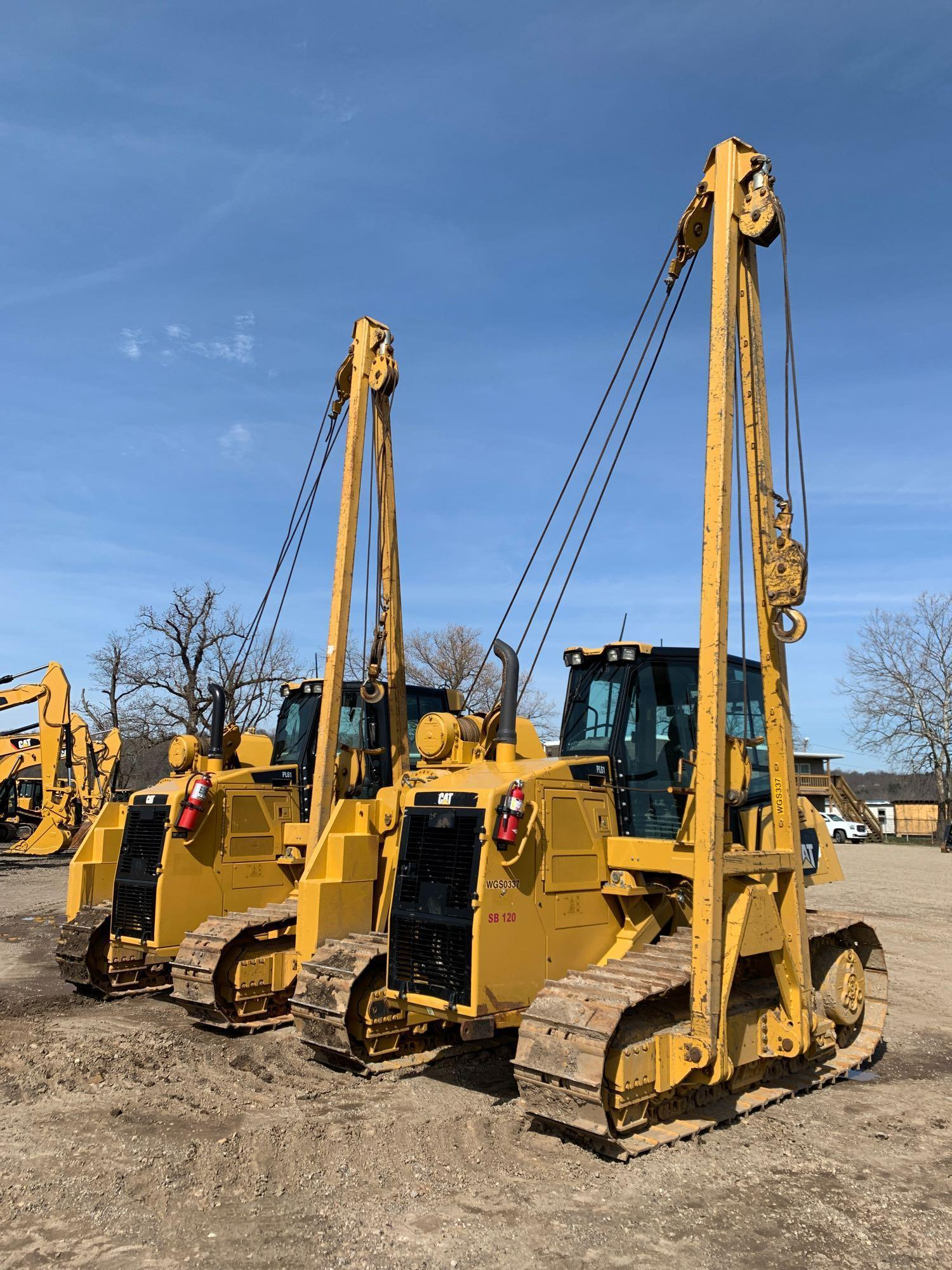 2013 CAT PL61 PIPE LAYER SN:WGS00337 Powered By Cat