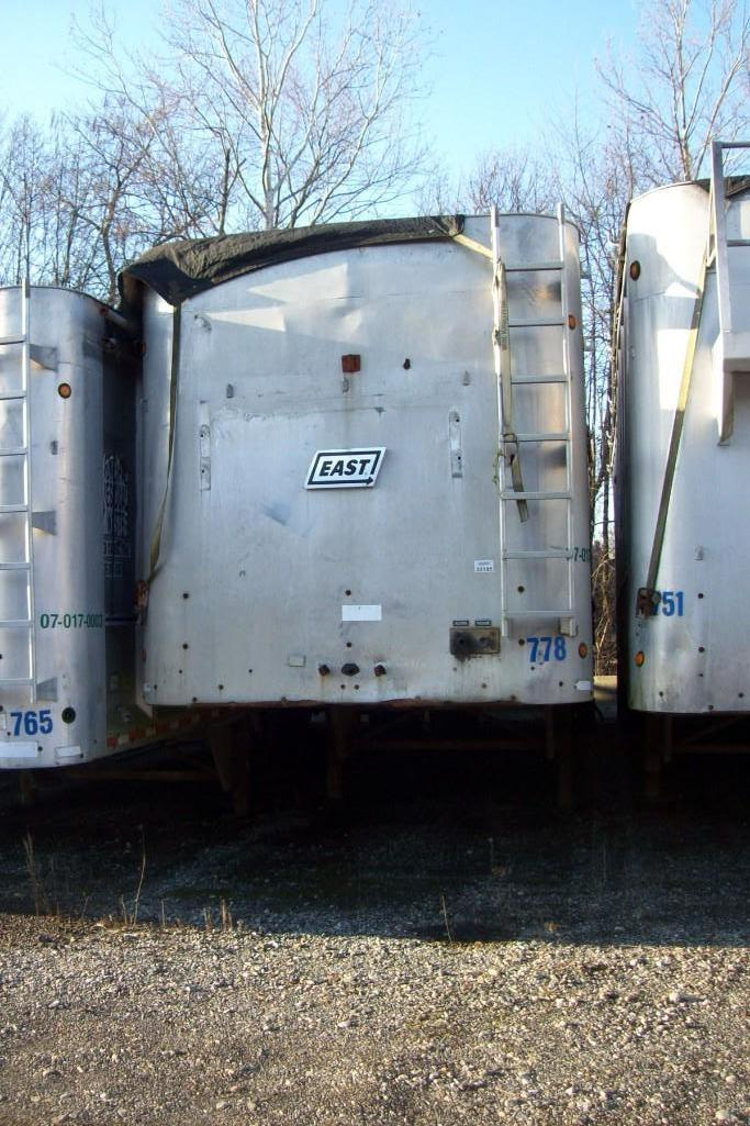 2003 EAST WALKING FLOOR TRAILER VN:B33185 Equipped