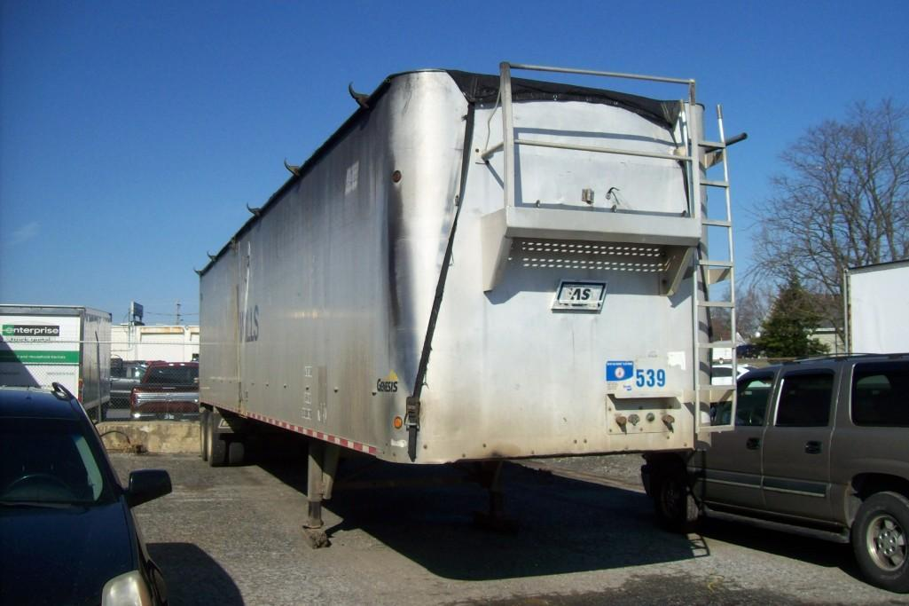 2004 EAST TIPPER TRAILER VN:K33939 Equipped With 48ft.