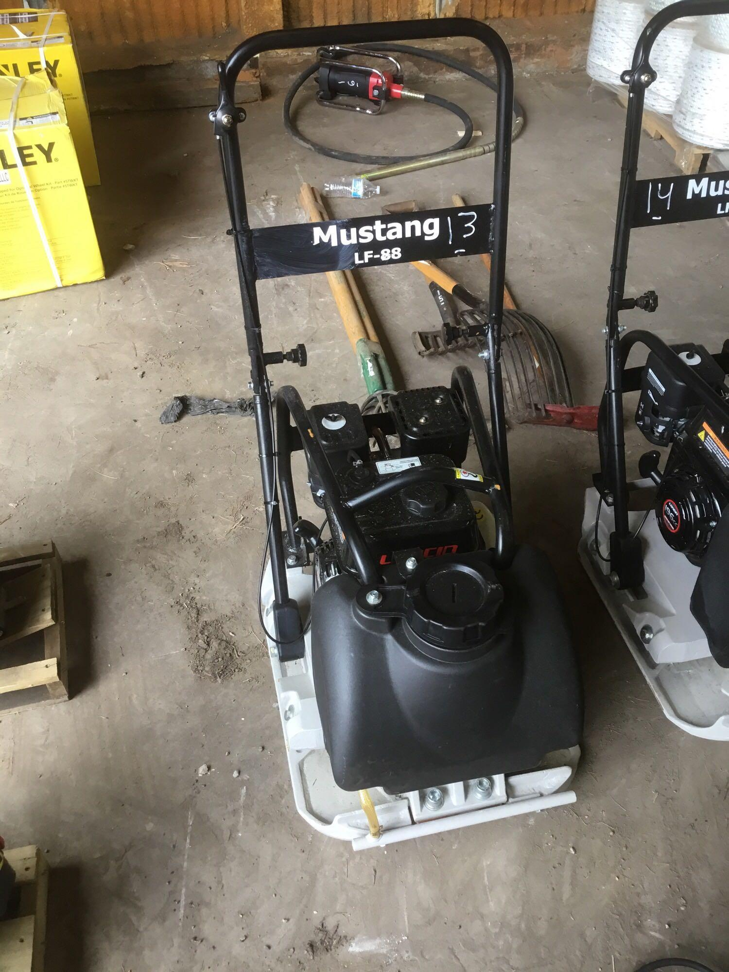 NEW MUSTANG LF88 PLATE COMPACTOR NEW SUPPORT EQUIPMENT