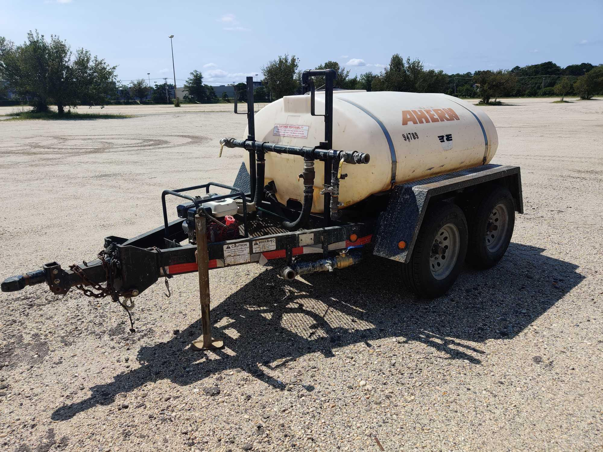 2008 - WYLIE EXP500S WATER TRAILER