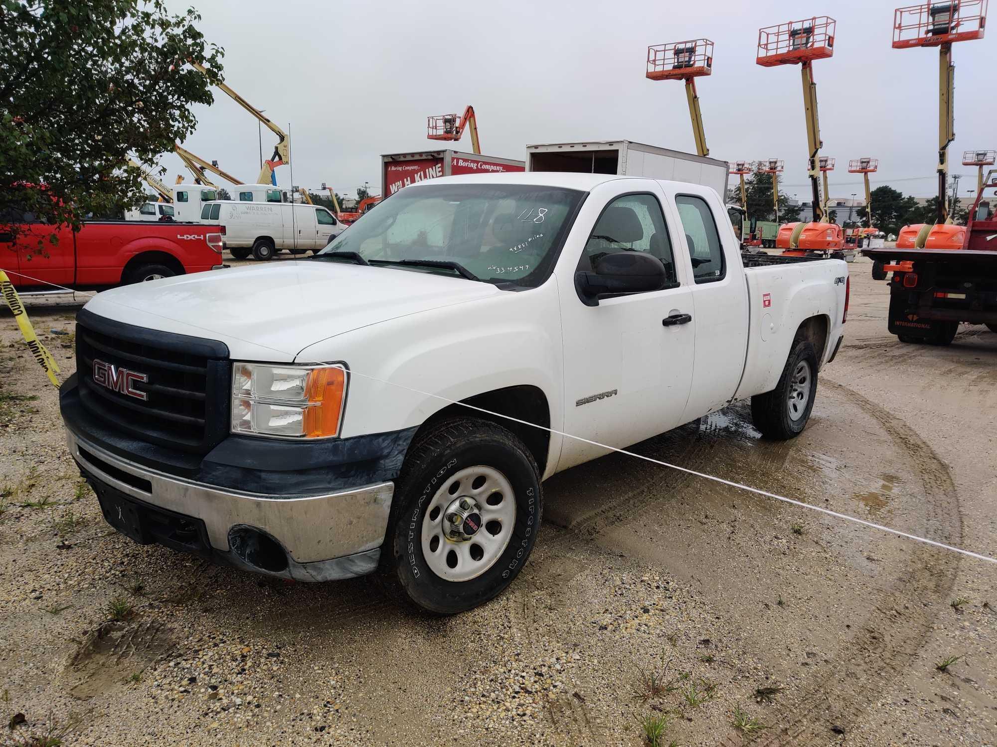 2011 GMC 1500 PICKUP TRUCK VN:1GTR2TEA0BZ334547 4x4