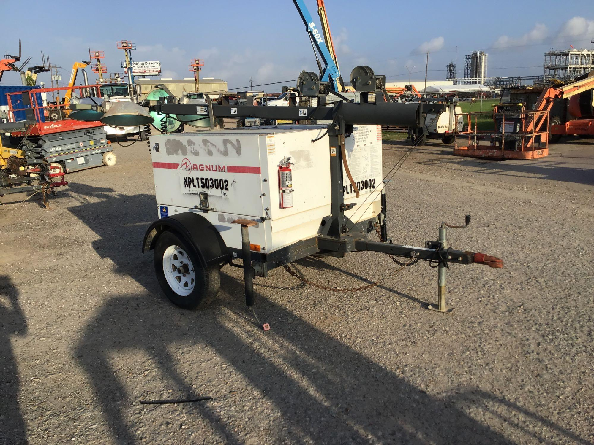 2013 MAGNUM PRO MLT5060 LIGHT PLANT SN:1303363 Powered