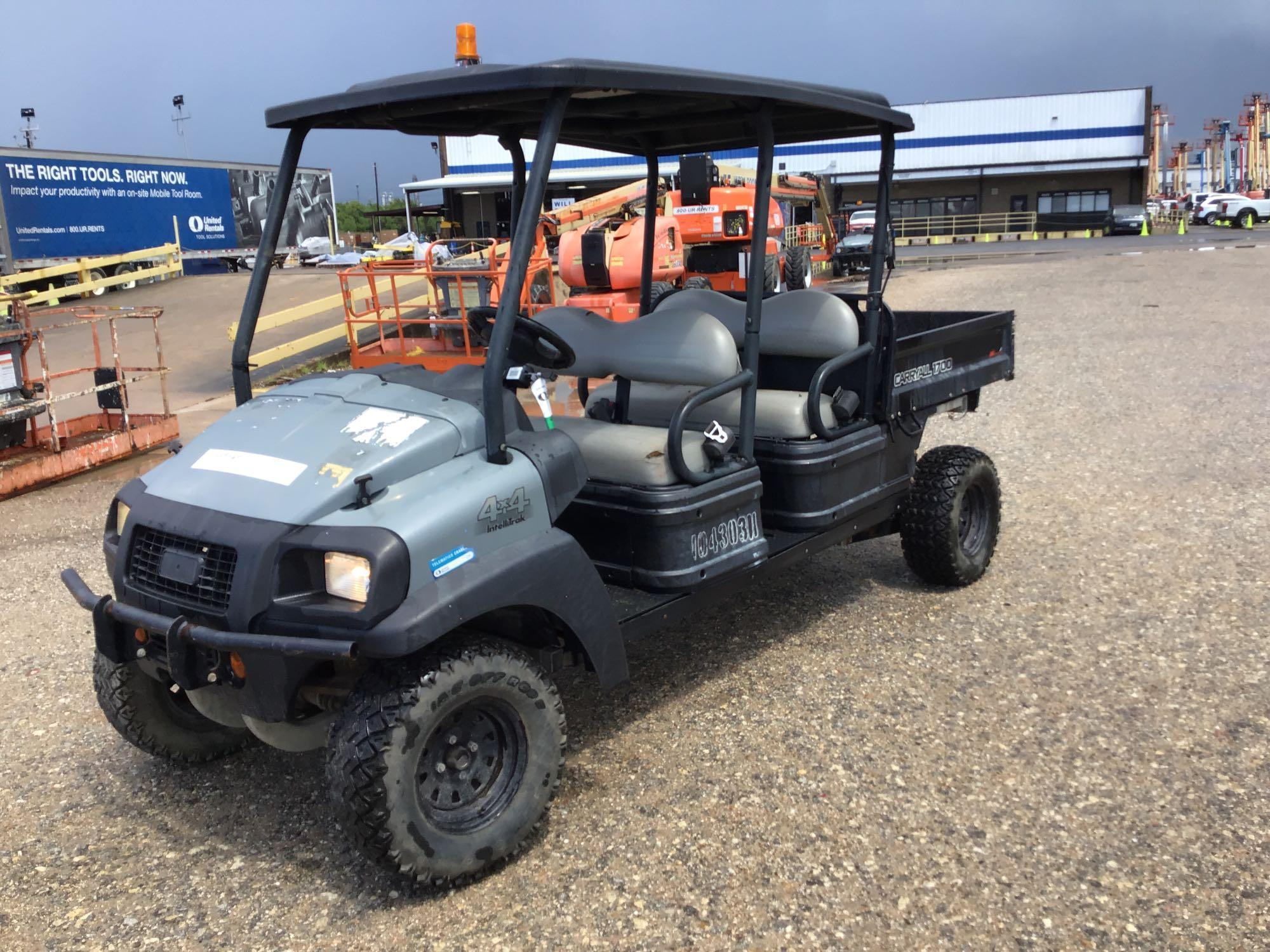 2015 CLUB CAR CARRYALL 1700 UTILITY VEHICLE