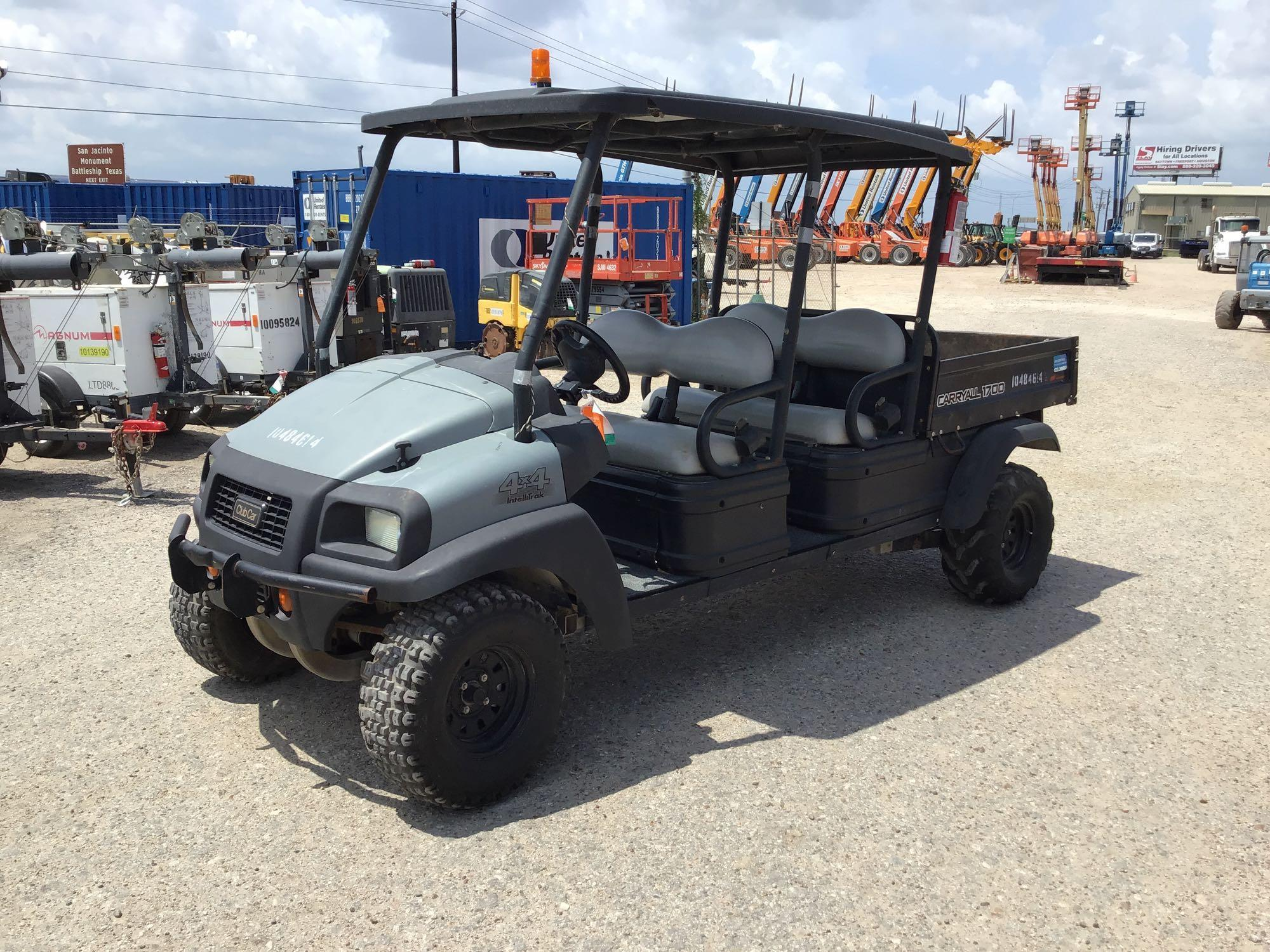 2016 CLUB CAR CARRYALL 1700 UTILITY VEHICLE
